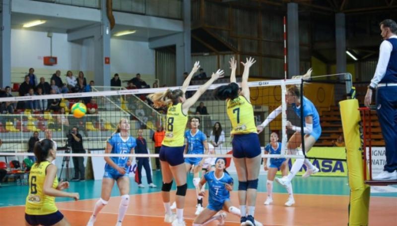 «Хімік» з Южного програв у Хорватії «Младості» матч кваліфікації волейбольної Ліги чемпіонів
