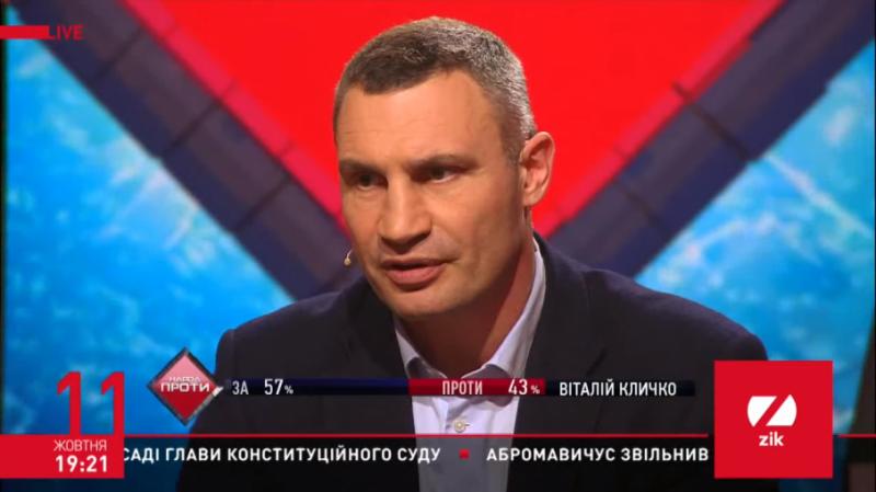 Кличко розповів про політичні плани і чи не шкодує про об'єднання з Порошенком