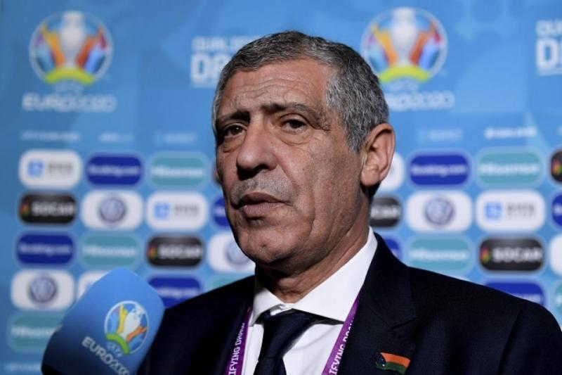 Тренер збірної Португалії Фернанду Сантуш: Ми маємо продемонструвати в Києві свій найкращий футбол