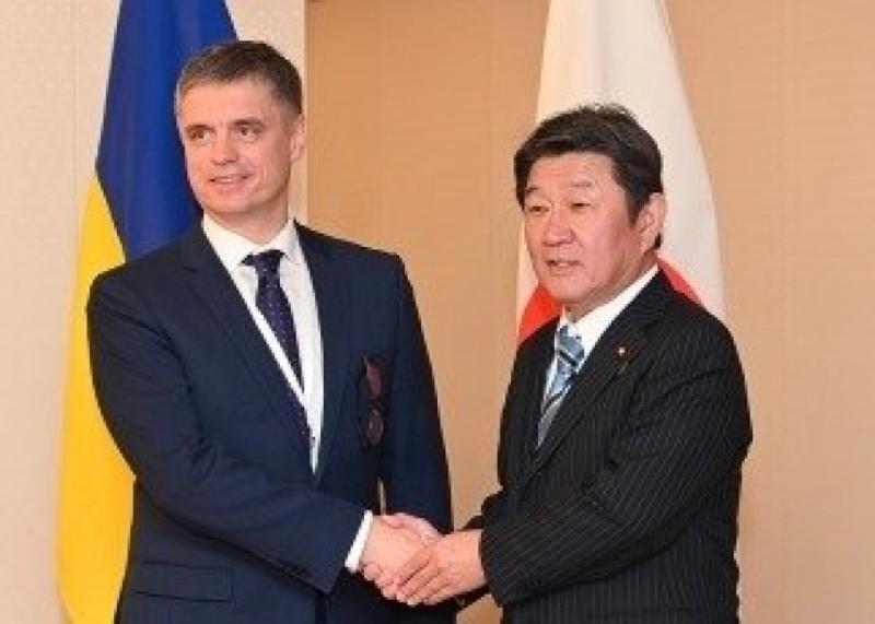 Японія продовжуватиме сприяти відновленню миру в Україні