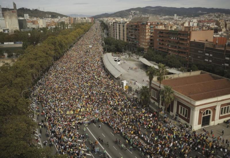 П'ятий день протестів і страйки паралізували Каталонію
