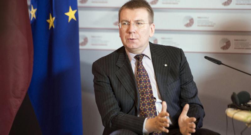 Україну відвідає глава МЗС Латвії