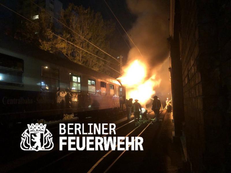 У Берліні загорівся потяг, є постраждалі