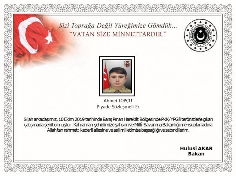 Туреччина втратила першого військового в ході операції в Сирії