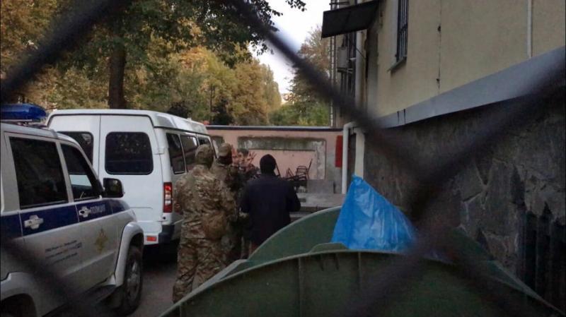 Затриманого українського активіста Приходька відправили на 2 місяці в СІЗО