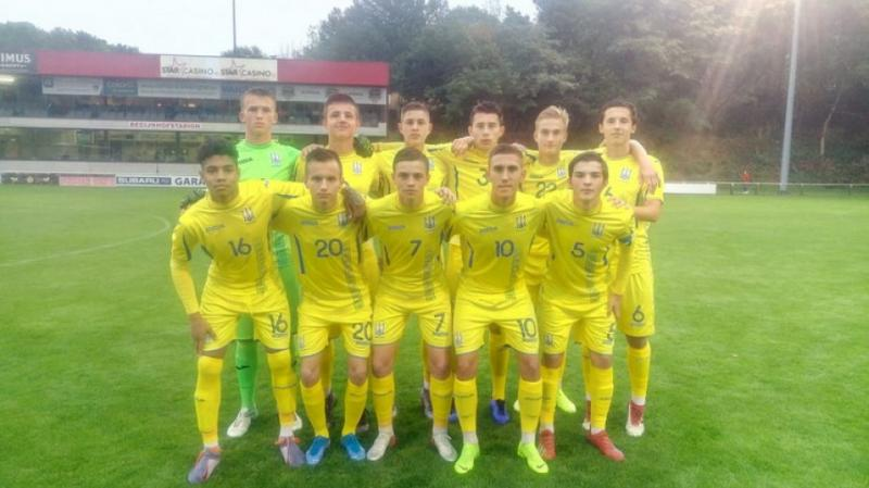 Футбольна юнацька збірна України U-16 і в другому матчі обіграла одноліток із Грузії