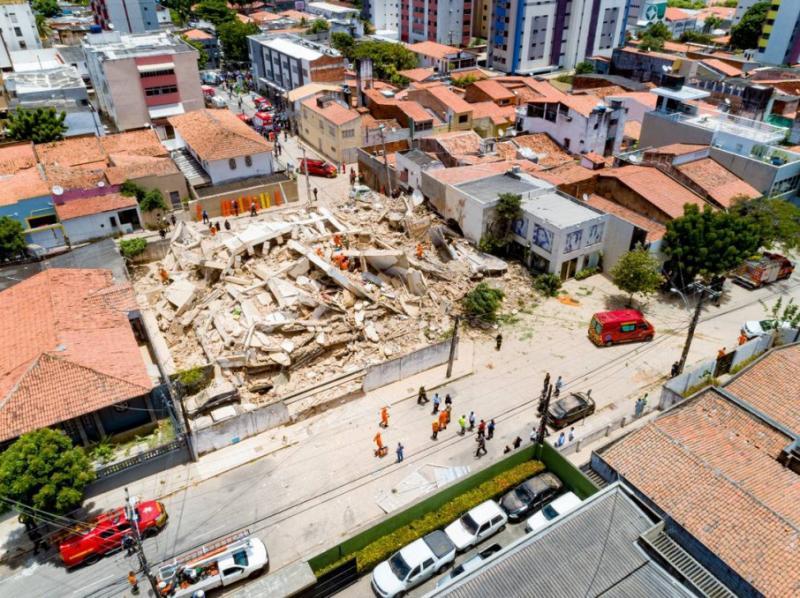 У Бразилії стався обвал житлового будинку, є жертви