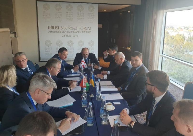 На тристоронній зустрічі представників України, Грузії та Білорусі обговорено питання у сфері транспорту