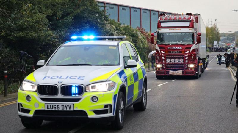Вантажівка із 39 тілами: У Британії заарештували ще двох підозрюваних