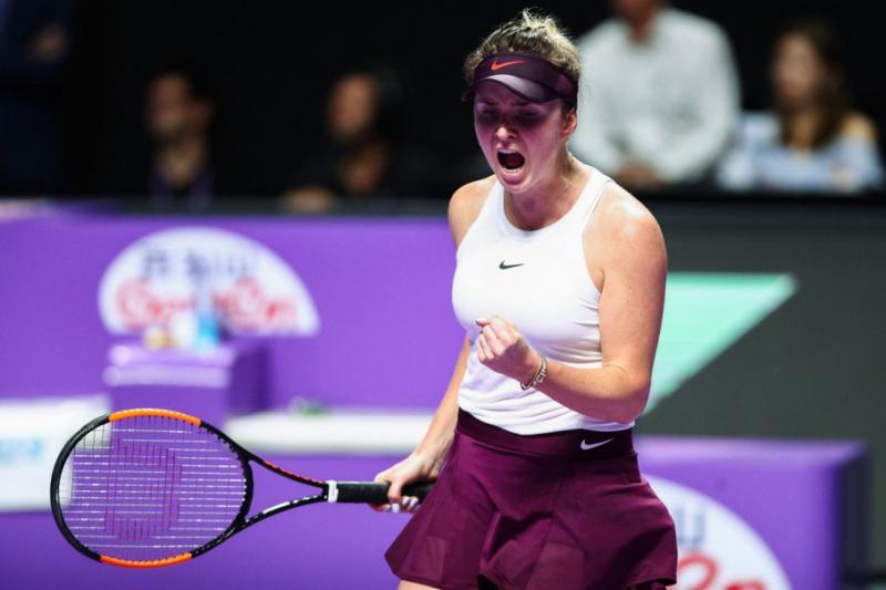 Еліна Світоліна обіграла Сімону Халеп і зіграє у півфіналі Підсумкового турніру WTA