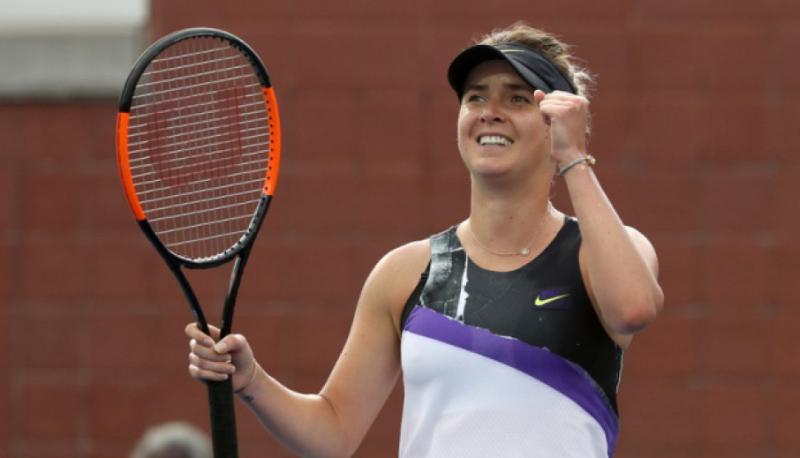 Еліна Світоліна вийшла до півфіналу тенісного турніру WTA Finals-2019 з першого місця
