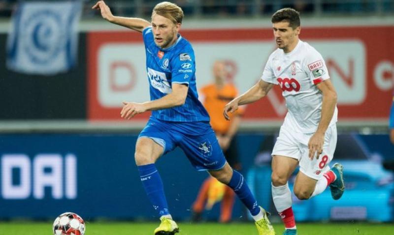 Гол Романа Безуса допоміг «Генту» виграти у «Стандарда» в грі чемпіонату Бельгії