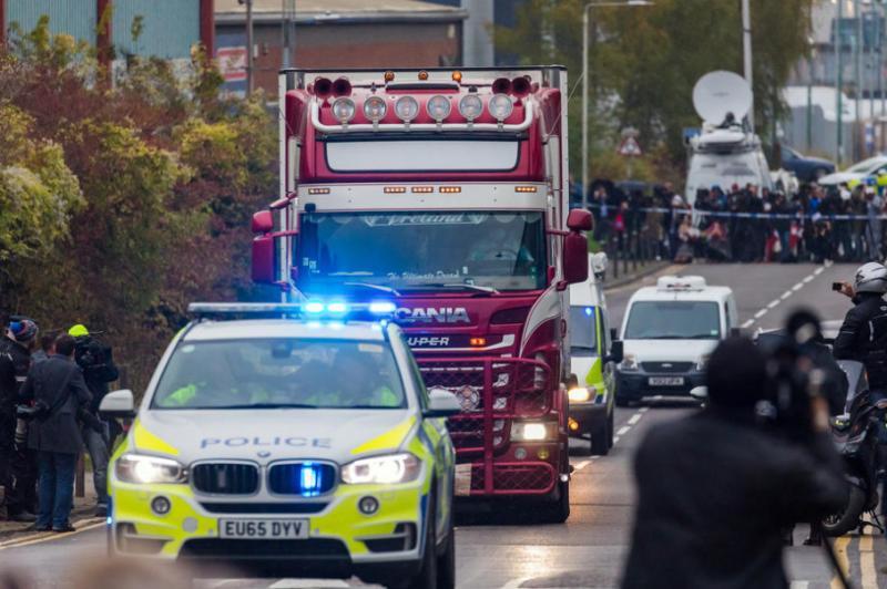 У В'єтнамі заарештували вісім осіб, причетних до загибелі людей у вантажівці в Британії