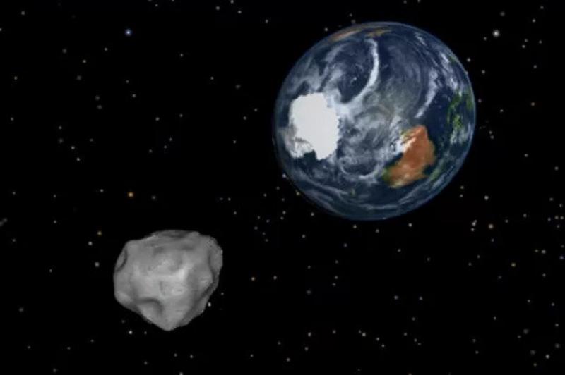 Невеликий астероїд пролетів дуже близько до Землі
