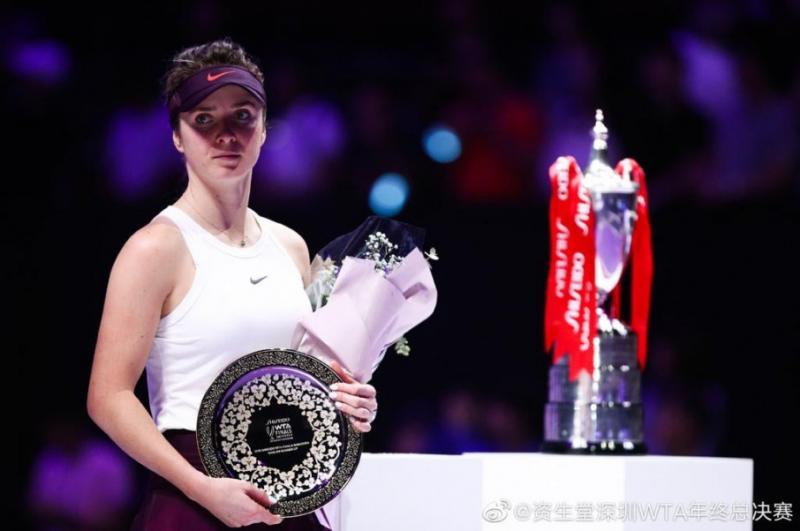 ЗМІ: Еліна Світоліна увійшла до ТОП-5 тенісисток WTA-туру за сумою призових