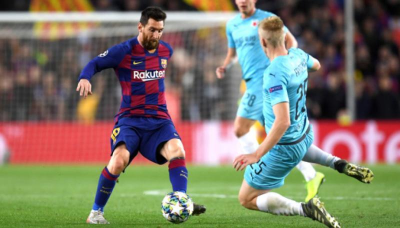 «Барселона» сенсаційно вдома зіграла внічию з празькою «Славією» у матчі Ліги чемпіонів УЄФА
