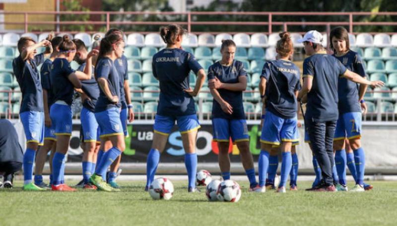 Жіноча футбольна збірна України розпочала збір перед матчем з Туреччиною