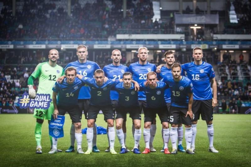 Збірна Естонії з футболу назвала склад на поєдинки з Україною та Нідерландами