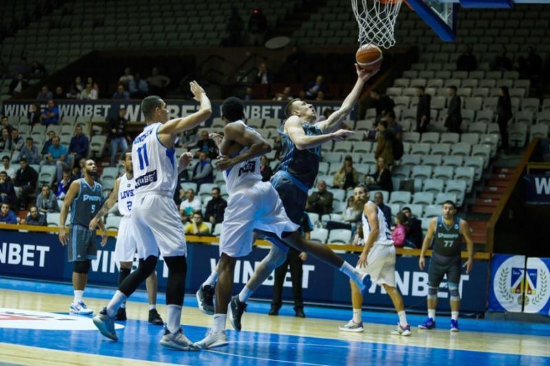 Баскетболісти «Дніпра» програли у Софії «Левські» матч Кубка Європи ФІБА