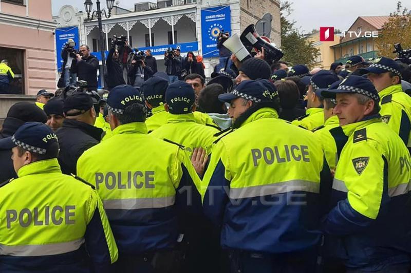 У Грузії сталися сутички протестувальників з поліцією