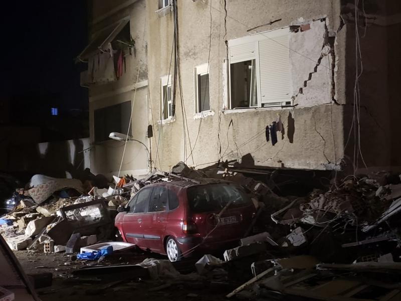 Землетрус в Албанії: кількість загиблих зросла до 20