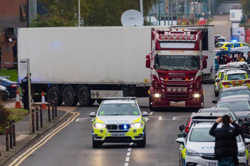 Знайдені у Британії 39 тіл у вантажному контейнері були в'єтнамцями, – поліція