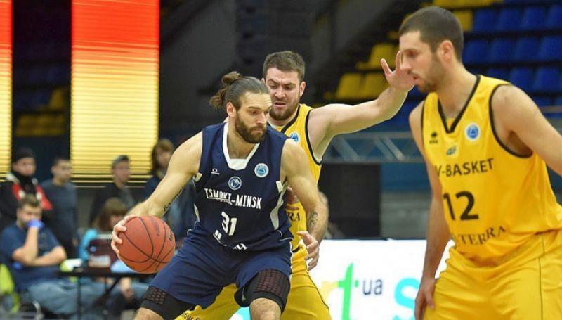 «Київ-Баскет» програв білоруському «Цмокі-Мінську» гру за лідерство в групі Кубка Європи ФІБА