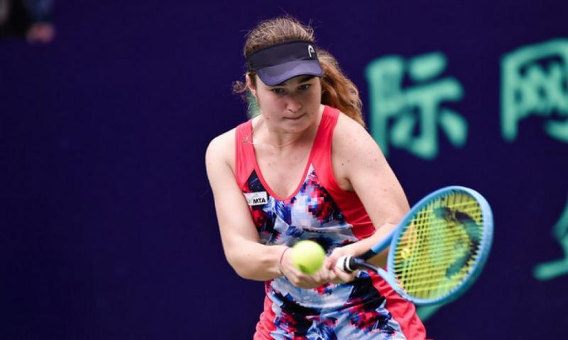 Дар'я Снігур програла першій «ракетці» тенісного турніру ITF у Шеньчжені китаянці Шуай Пен