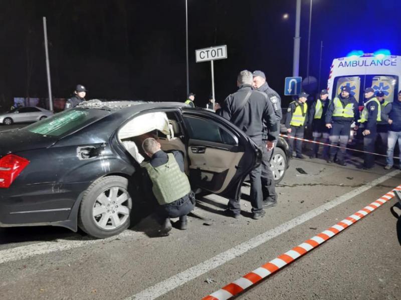 Підрив авто у Києві: В поліції розповіли деталі події