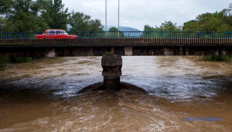 На річках Західної України можливе підвищення рівнів води до 1,3 м