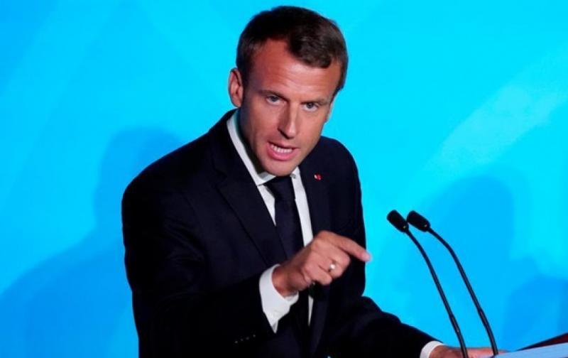 МЗС викликало посла Франції через слова Макрона про українців