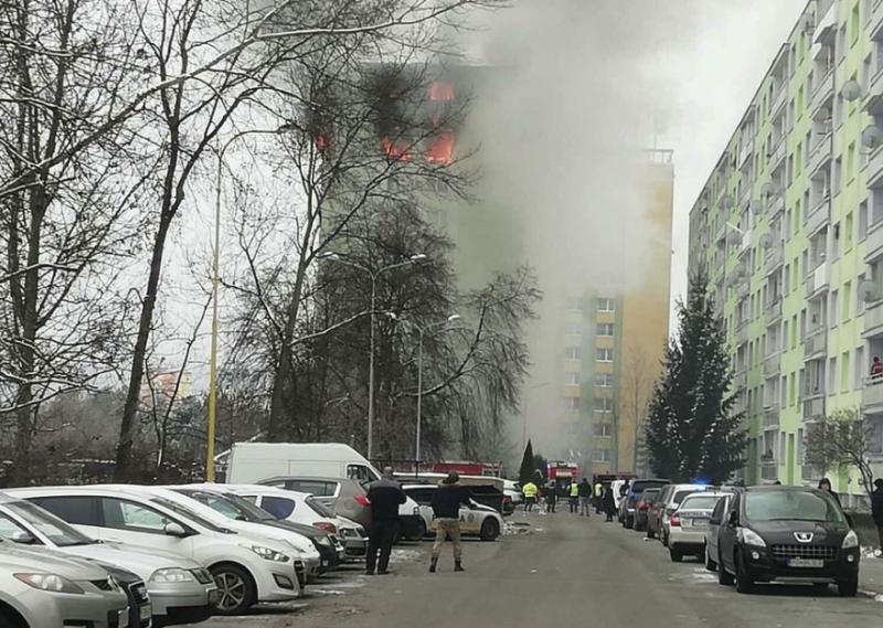 Вибух у словацькій багатоповерхівці: 5 загиблих, є ризик обвалу