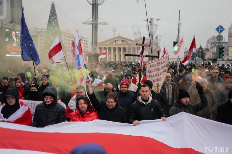 У Мінську опозиція протестує проти поглибленої інтеграції з Росією