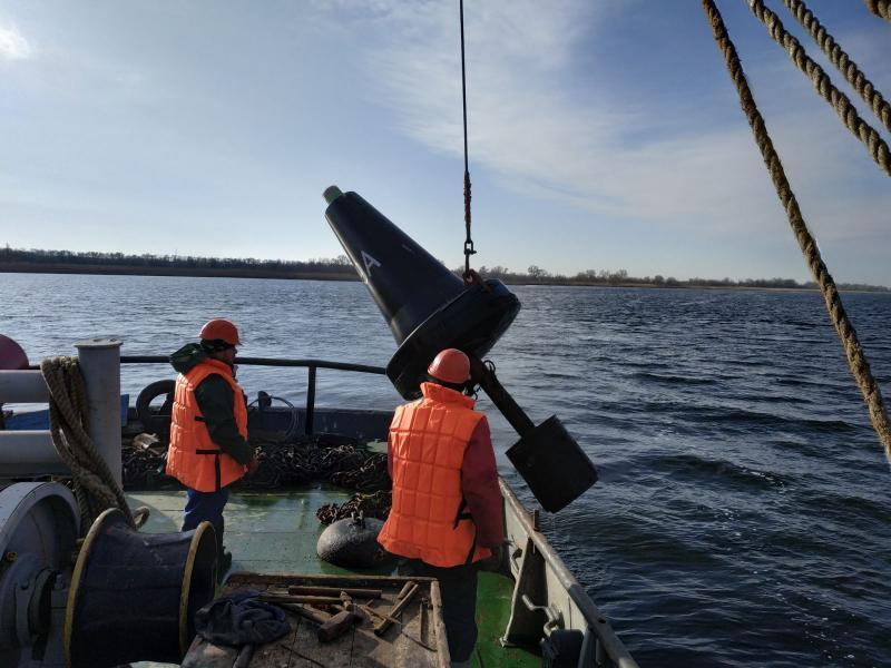 Держгідрографія завершила зняття навігаційної обстановки на внутрішніх водних шляхах України