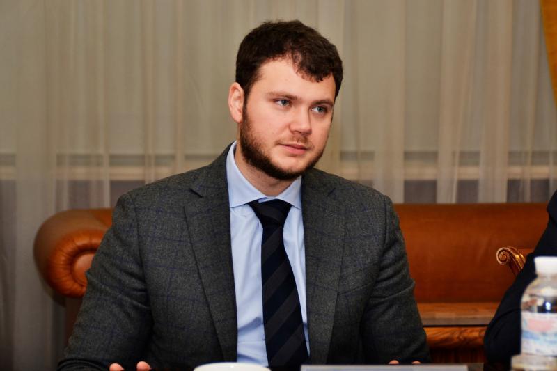 Міністр інфраструктури Владислав Криклій провів зустріч з представниками компанії Deloitte