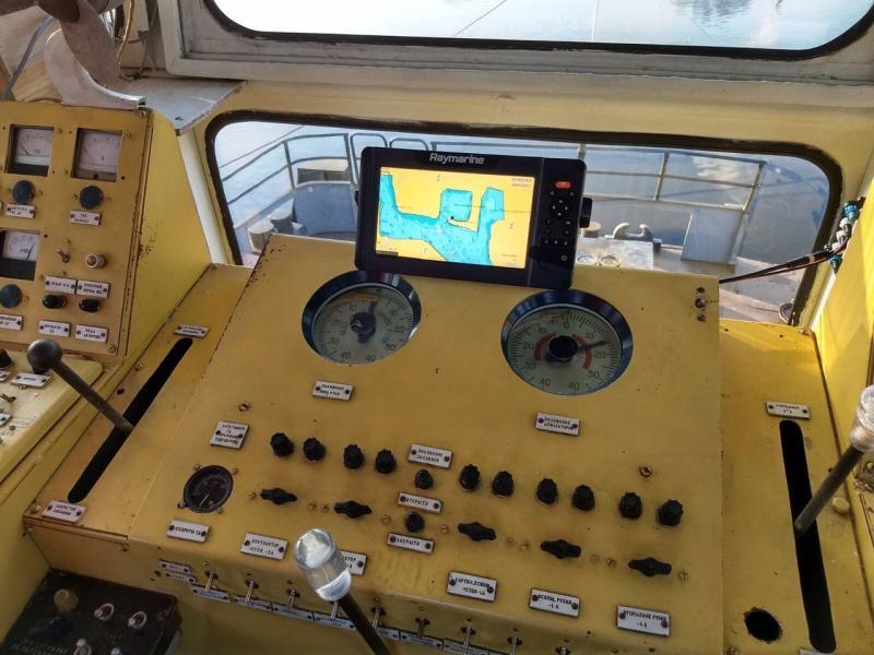 Держгідрографія оснащує свої річкові судна сучасними засобами електронної навігації