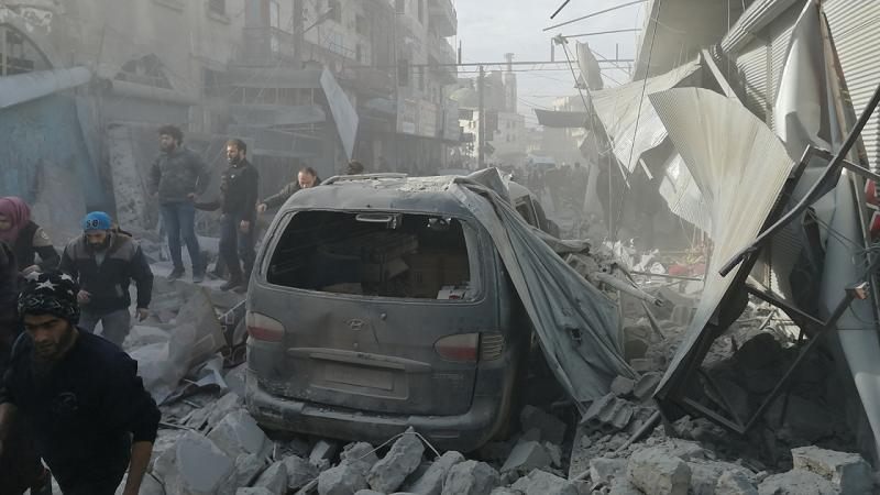 Росія і Асад завдали ударів по Ідлібу: десятки загиблих