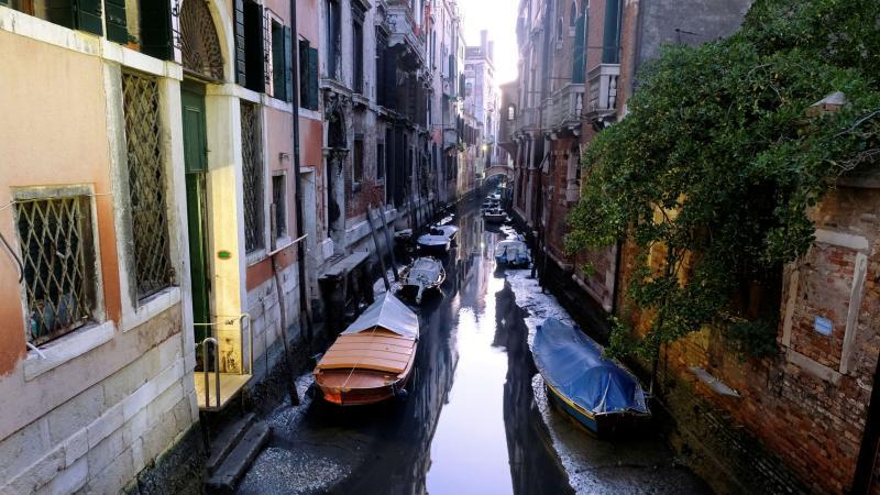 У Венеції пересохли канали