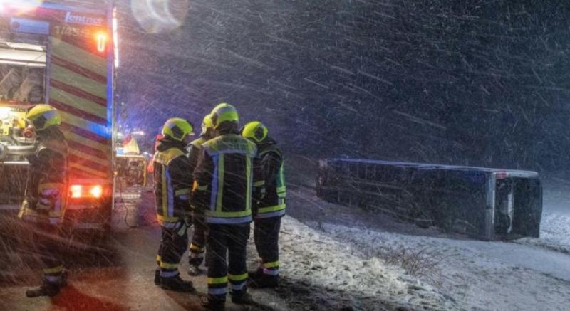 Негода на півдні Німеччини: одна жертва і 8 потерпілих