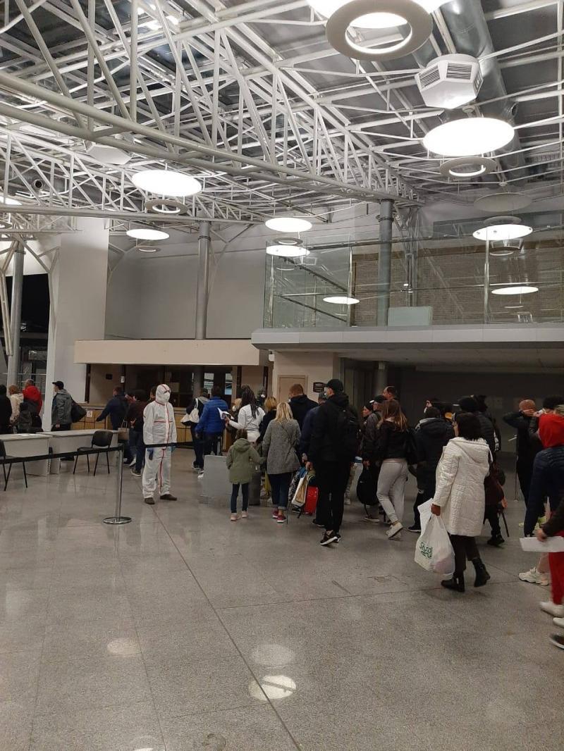 В аеропорту «Бориспіль» всі авіарейси міжнародного сполучення на приліт переведені до терміналу B, постійно працюють епідеміологи - Владислав Криклій