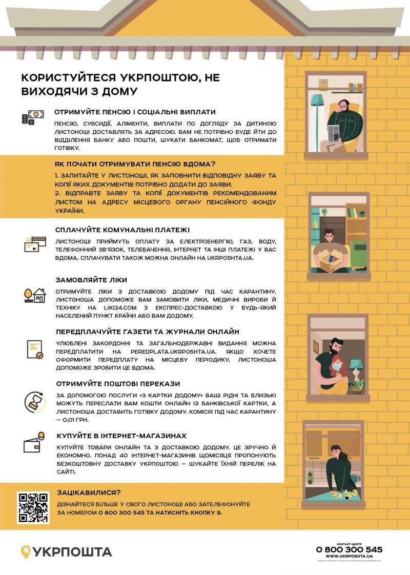 Укрпошта пропонує доставку виплат та товарів додому, – Владислав Криклій