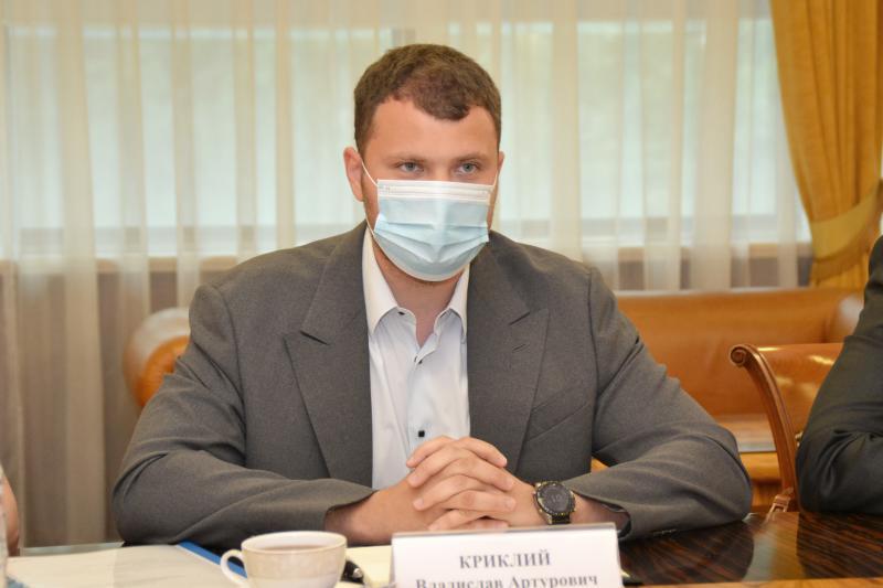 Владислав Криклій зустрівся з Надзвичайним і Повноважним Послом Азербайджану в Україні Ельмірою Ахундовою