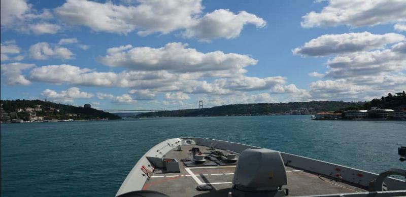 Дві групи кораблів НАТО увійшли в Чорне море для навчань з Україною і Болгарією