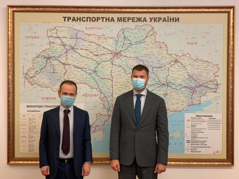 Владислав Криклій зустрівся із Надзвичайним і Повноважним Послом Італії в Україні Давіде Ла Чечіліа