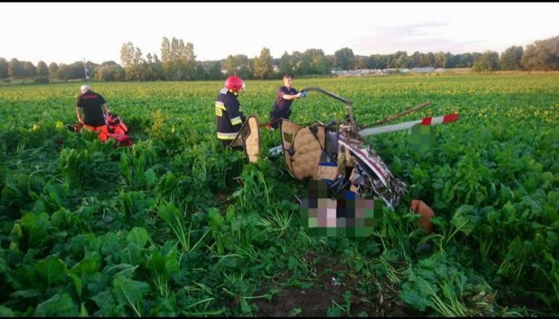 У Польщі розбився вертоліт, двоє загиблих
