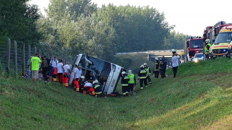 В Угорщині перекинувся автобус з польськими громадянами: 1 загиблий, 34 постраждалих