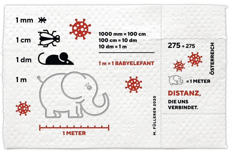 Австрія випустила марку на згадку про коронавірус – на туалетному папері