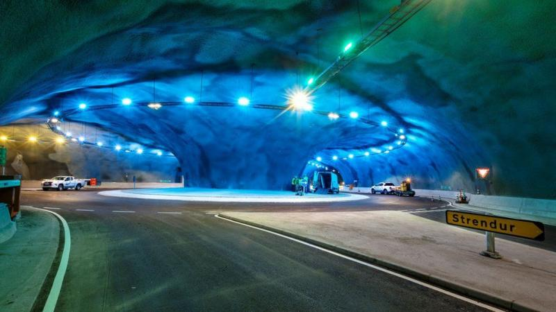 На Фарерських островах збудували перший у світі підводний тунель з розв