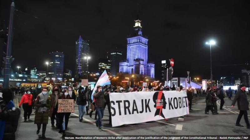 У Польщі набуло чинності скандальне рішення КС про майже повну заборону абортів