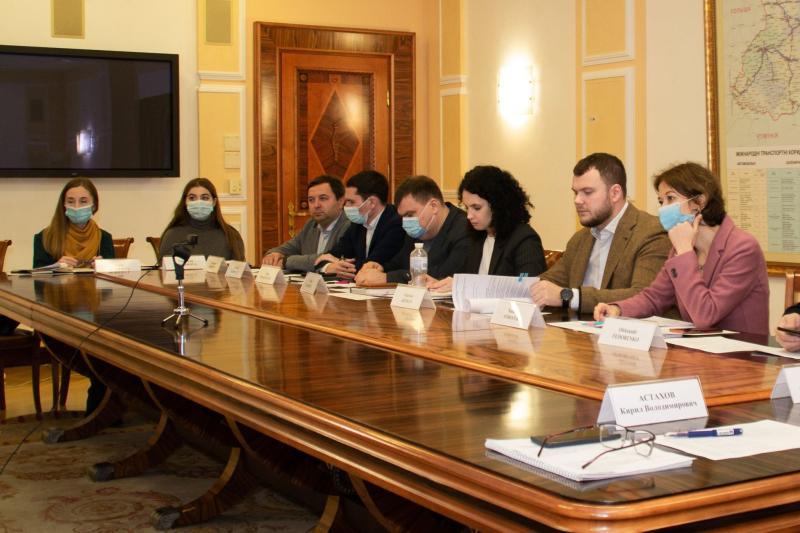 Владислав Криклій провів онлайн-зустріч з Головою представництва ЄІБ в Україні Жаном-Еріком де Загоном